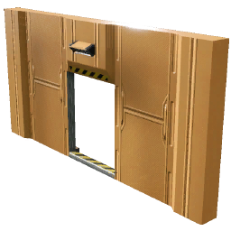 Wall Door Center (Plating)