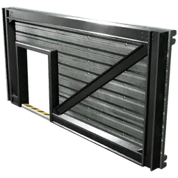 Wall Door Left (Sheet Metal)