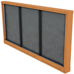Wall Window 8m x 4m 02 (Plating)